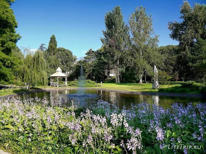 Сербия. Парк в Нови-Саде.