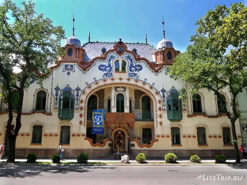 Сербия. Субботица - Дворец Райхля.