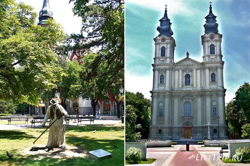 Сербия. Субботица - собор Терезы Авильской.