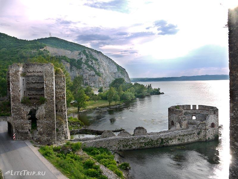 Сербия. Голубацкая крепость -берег Дуная.
