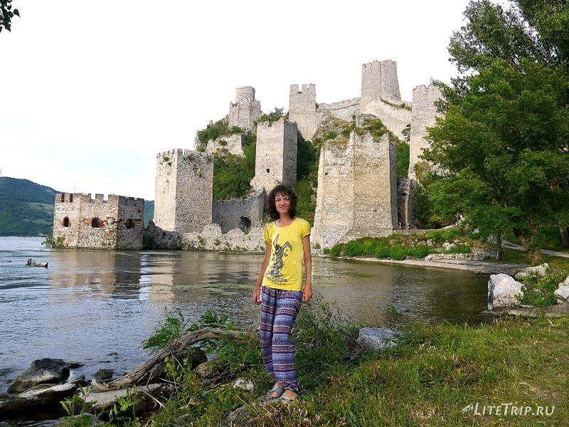 Сербия. Голубацкая крепость - Мила.