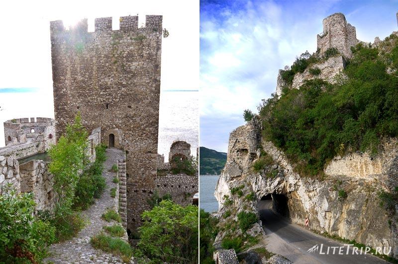 Сербия. Голубацкая крепость -скрытые тропы.