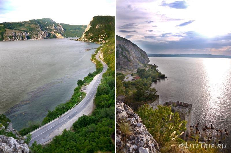 Сербия. Голубацкая крепость - вид с крепости.