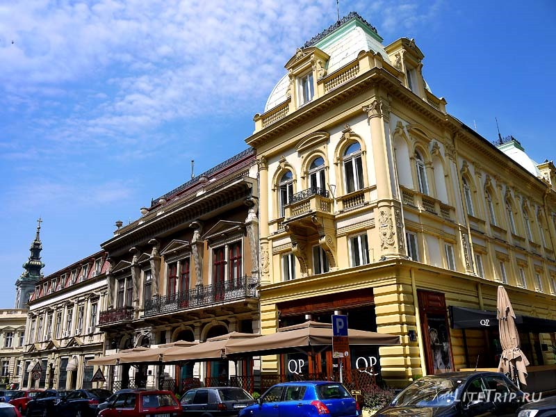 Сербия. По улицам Белграда.