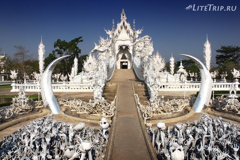 Чианг Рай. Мост Белого храма (Ват Ронг Кхун)