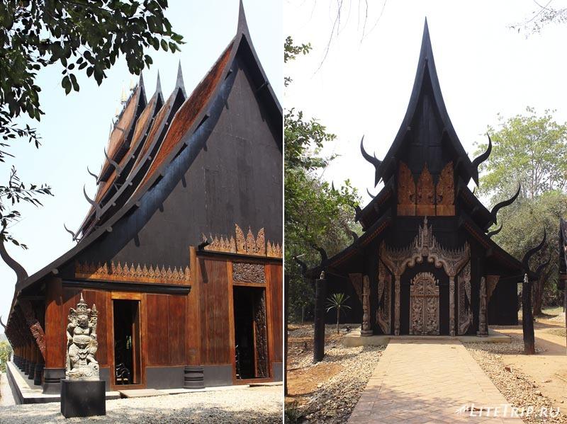 Черный храм (дом) в Чианг Рае. Дома.