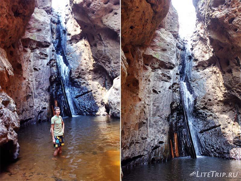 Пай. Водопад Пам Бок (Pam Bok Waterfall).