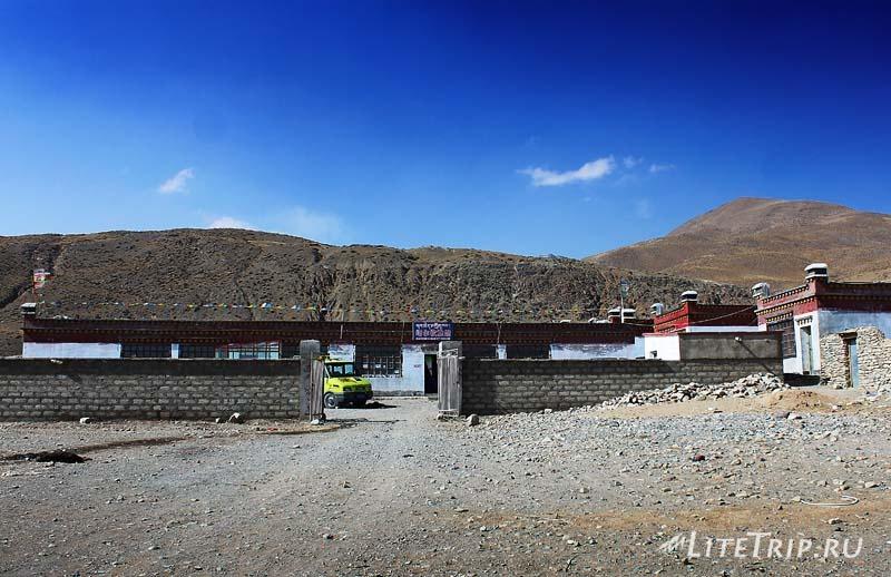 Тибет - Дарчен. Наш гестхаус.