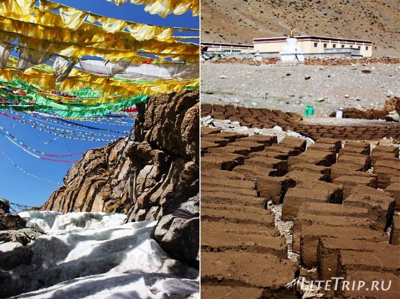 Тибет - Дарчен. В округе от ледяной реки.