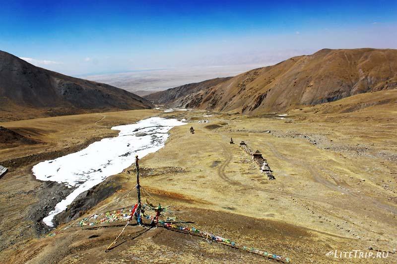 Тибет. Монастырь Гьяндрак под Кайласом. Вид