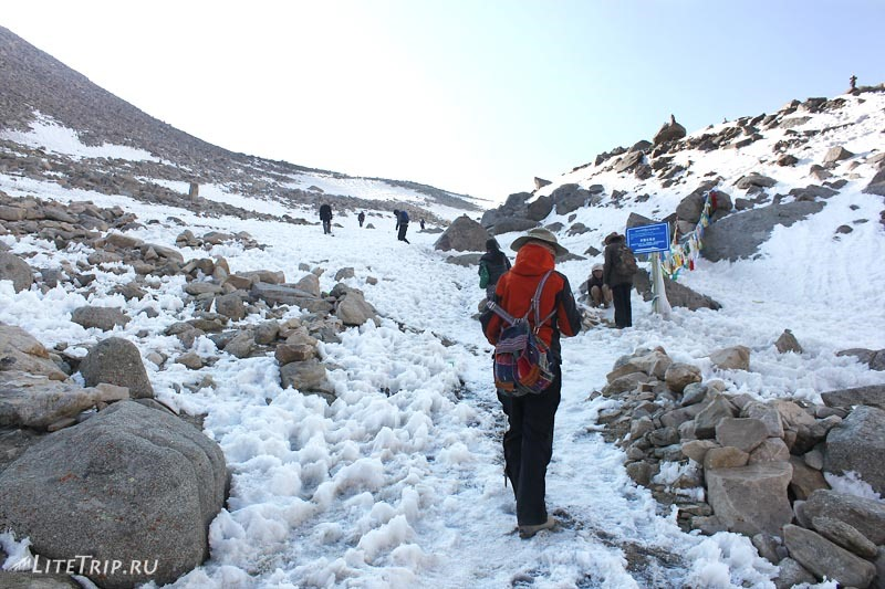 Тибет. Внешняя кора вокруг Кайласа. Группа.