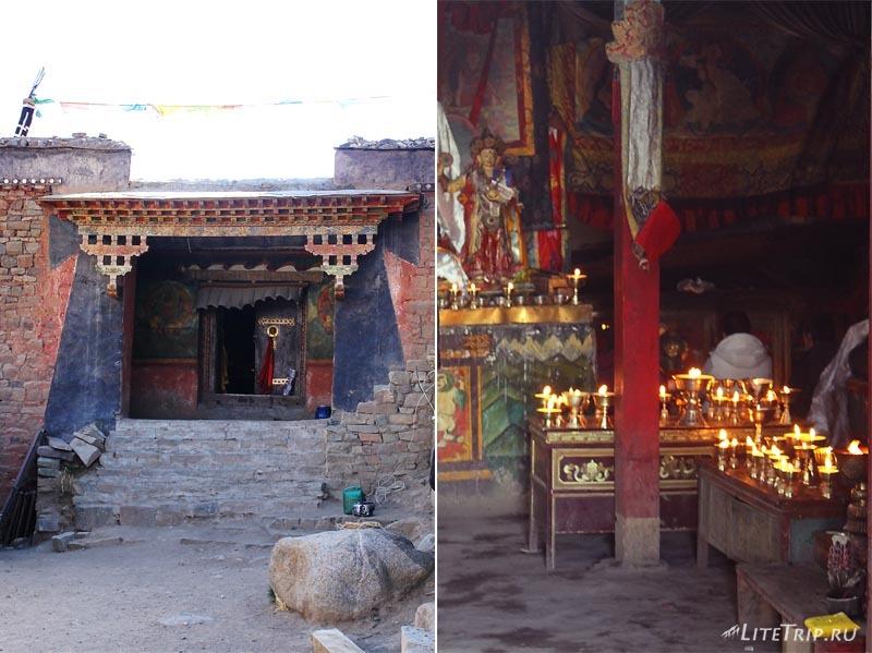 Тибет. Внешняя кора вокруг Кайласа. Монастырь