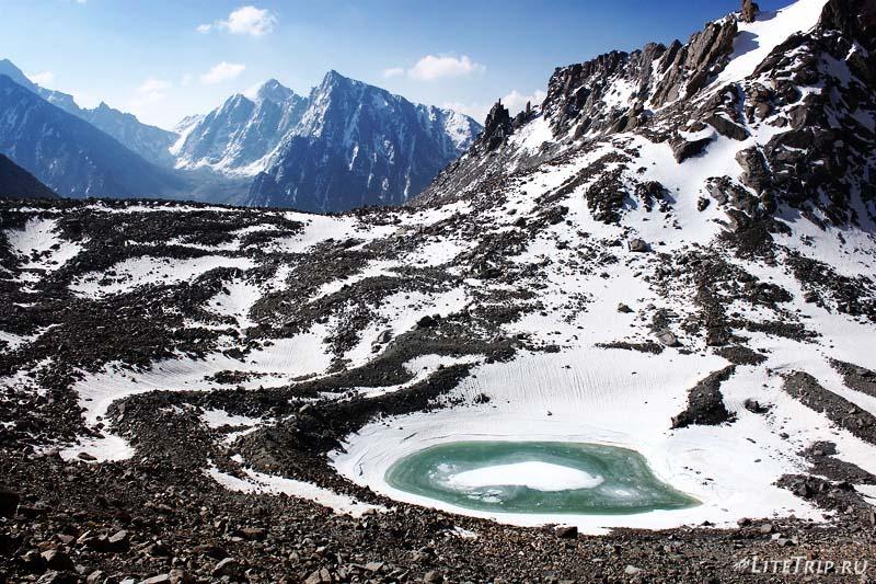 Тибет. Внешняя кора вокруг Кайласа. Озеро Гаурикунд.