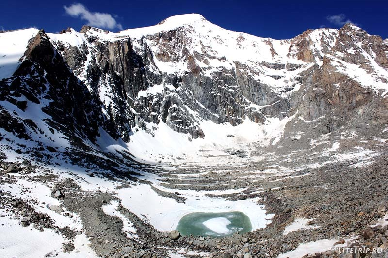 Тибет. Внешняя кора вокруг Кайласа. Озеро Гаурикунд
