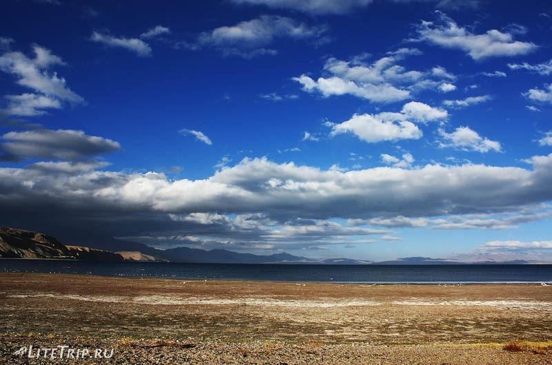 Тибет. Озеро Манасаровар.