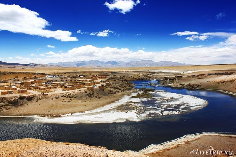 Тибет. Термальные источники.