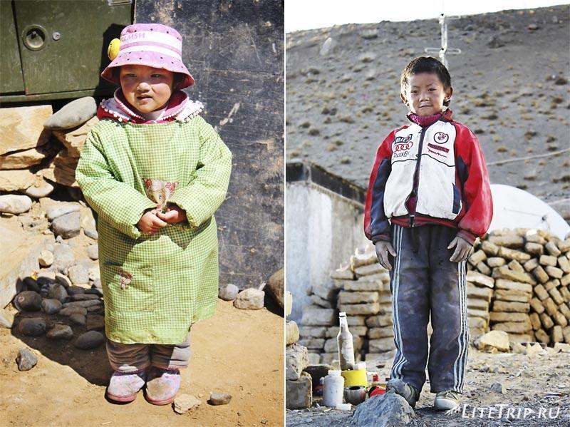 Тибет. Дети города.