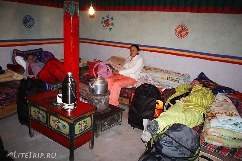 Тибет. Гестхаус в Жонгба.