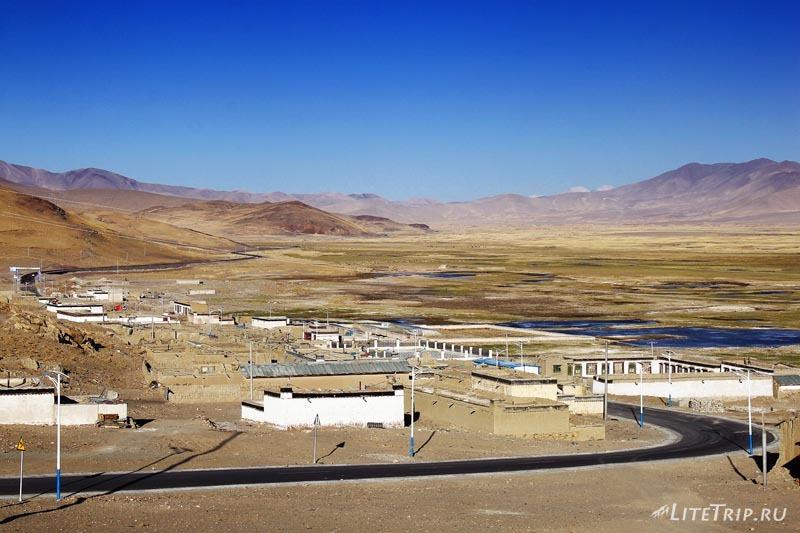 Тибет. Город Жонгба.