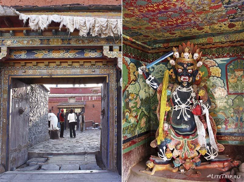 Тибет. Храм в Жонгба.