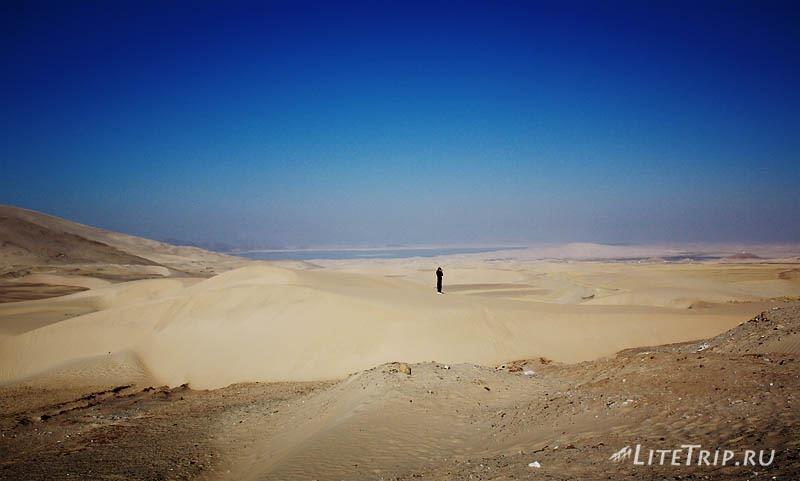 Тибетские песочные барханы.