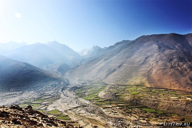 Тибет. По дороге в Жонгба.