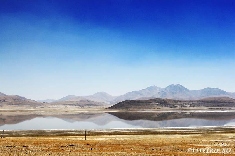 Тибет. Пейзажи по дороге в Жонгба.