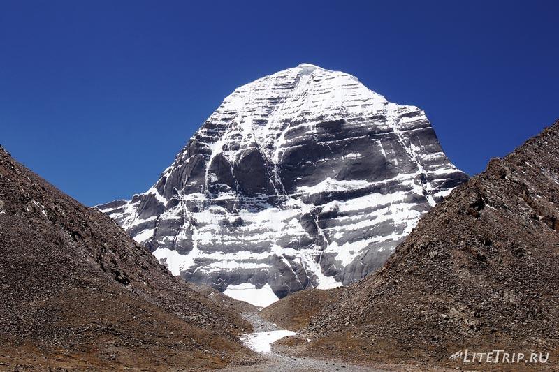 Тибет. Кайлас - северное лицо.
