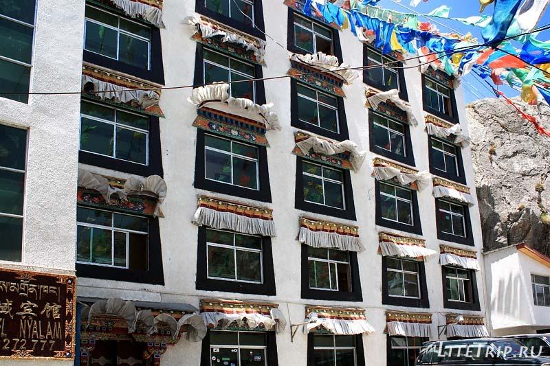 Тибет. Отель Nyalam.