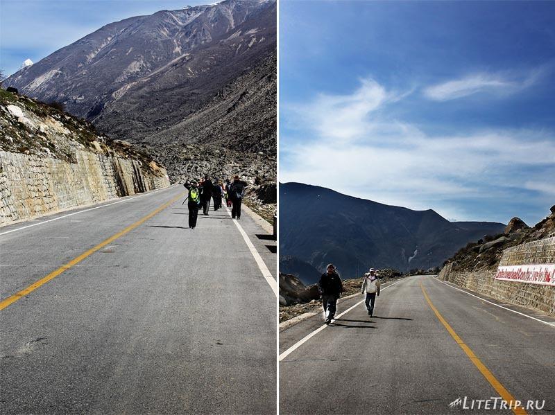 Тибет-Ньялам. Дорога в гору.