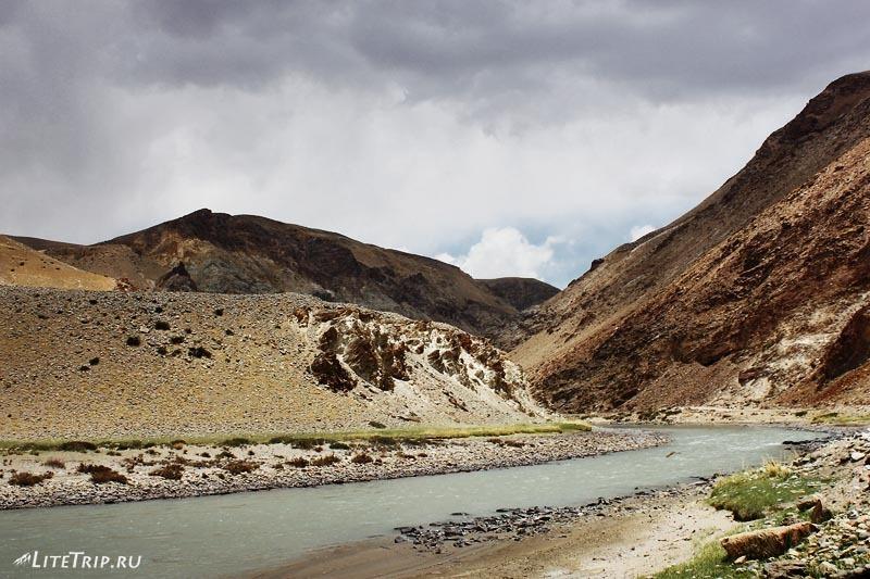 Тибет. Долина Гаруды - к термальным источникам.