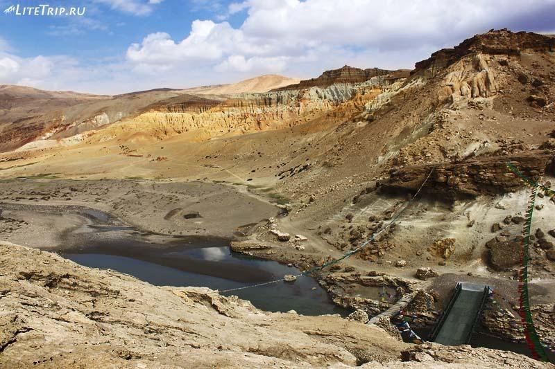 Тибет. Мост в долину Гаруды.