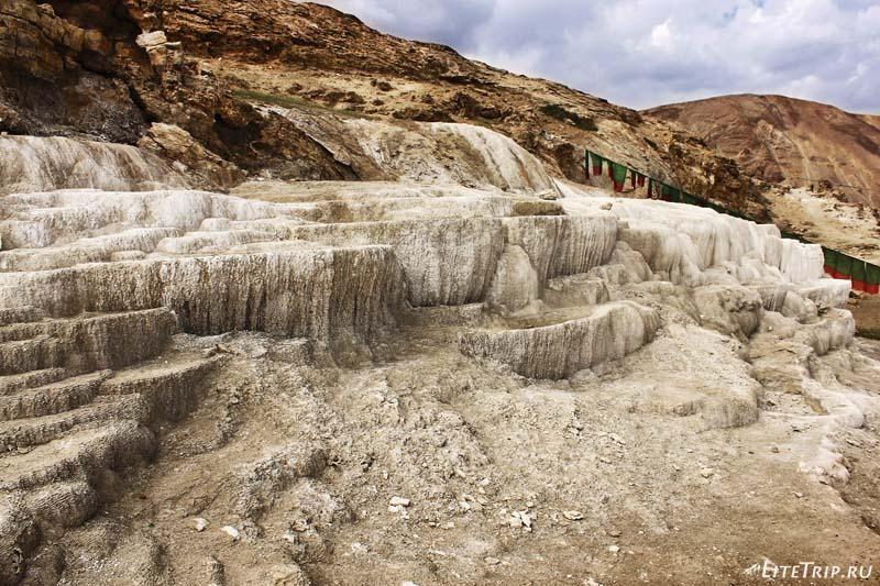 Тибет. Долина Гаруды - высохшие источники.