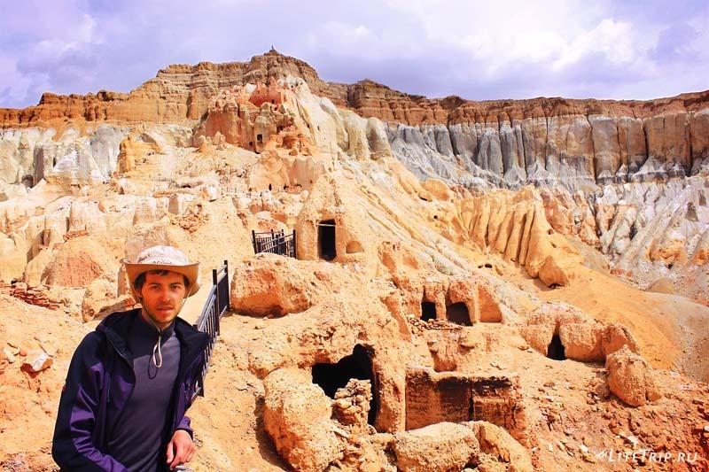 Тибет. Долина Гаруды - серебряный дворец.