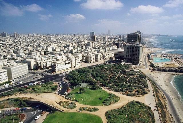 Достопримечательности Тель-Авива.
