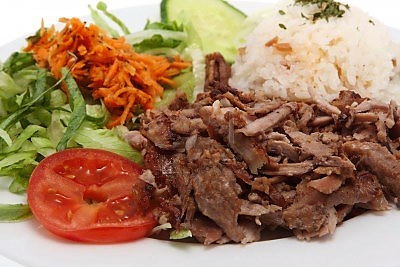 Турецкий кебаб.