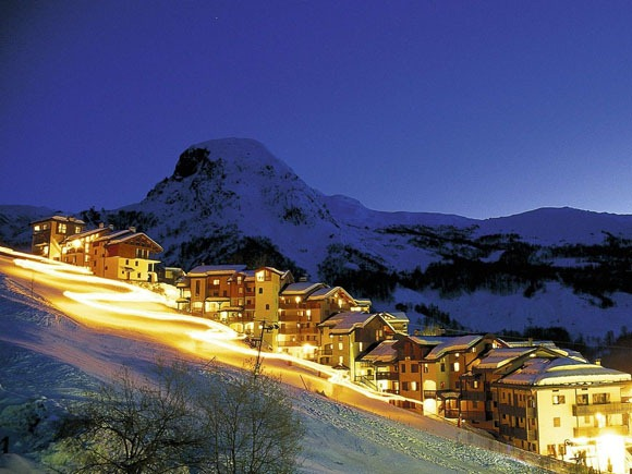 Новогодний горнолыжный курорт