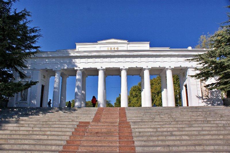 Графская пристань в Севастополе